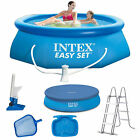 INTEX Easy Set Swimming Pool  Schwimmbecken Quick-Up Schwimmbad 183 cm - 396 cm