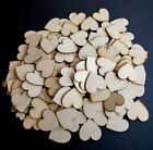 50 x Wooden Heart shapes Laser Cut MDF. Blank Embellishments Craft 20mm x 20mm
