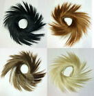 "Scrunchie Spiky 3.5"" Long Long Hair Ponytail Holder Hairpiece - Choose Color"