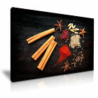 FOOD & DRINK Spice Pepper Canvas Framed Printed Wall Art 42 ~ More Size