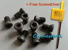 12pcs Insert Torx Screw for Carbide Inserts Lathe Tool & Screwdriver M1.6 to M4