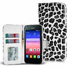 For Huawei Ascend Y550 L01 L02 L03 Wallet Leather Case cover Book i Stylus