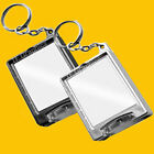 Design Your Own Custom Personalised Torch Keyring  - 2 Colours to choose from.
