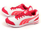 Puma Austin Wn's White-Fluo Pink Sportstyle Breathable Running Shoes 187474 06