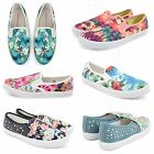 WOMENS LADIES DOLCIS CASUAL CANVAS PLIMSOLLS FLAT TRAINERS SKATER SHOES PUMPS