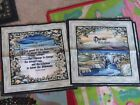 U Choose Prayer Or One Day Religious Themed Sewing Panel Fabric Block Sweet Nice
