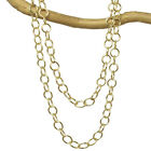 """Handmade Large Link Chain Necklace 14K Gold Filled or Sterling 18"""" 22"""" 36"""" USA"""