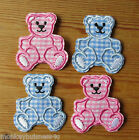 2 - Iron on - Baby Bear #2 - Baby/Kids - Embroidered Patch - Applique/Cards