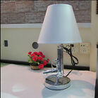 New Beside Gun Table Lamp Desk Lighting Lamp Study Light Silver Gold plated