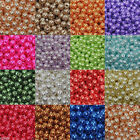 4mm,6mm,8mm Round Glass Pearl Spacer Loose Beads -17 Colors