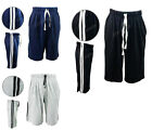 Mens Fleece Casual Comfort Waistband Shorts Jogging casual Gym Shorts S-XL