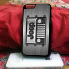 Bumper Jeep Steampunk Plastic Case for Apple iPhone 6 / iPhone 6 Plus / iPod 5