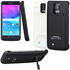 4800mAh External Backup Battery Charger Case for Samsung Galaxy Note 4