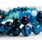 4mm/6mm/8mm/10mm/12mm Ball Gemstone Loose Bead DIY 15.5 inch