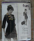 Cabin Crew Air Hostess Ladies Fancy Dress Hen Halloween Party Costume Outfit
