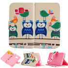 Smile Owls Luxury Wallet Card Leather Case Cover F SamSung LG HTC Sony Nokia Z