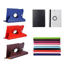 """360 Rotating PU Leather Case Cover Stand For Samsung Galaxy Tab A SM-T550 9.7"""""""