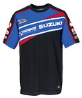 Suzuki Bennetts BSB 2015 Mens Tee Top T-Shirt Sponsor Logos on Chest and Back