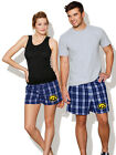 Iowa Hawkeyes Boxer Shorts UI Boxers Men or Ladies GREAT AS PAJAMAS SLEEP SHORTS