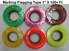 Marking Flagging Trail Tape Safety Ribbon Camping Hiking Outdoor Survival