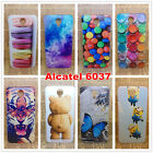 For Alcatel One Touch Idol 2 6037 6037y 6037k Case Color Painted Hard PC Cover