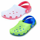 Boys & Girls Crocs Chameleons Translucent Clog Synthetic Mules