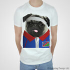 Namibia Rugby Tshirt Pug T-shirt Namibian World Cup Sport Pugs 2015 Top Africa T