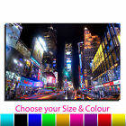 New York Time Landscape Square Single Canvas Wall Art Picture Print 20
