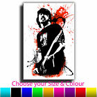 Dave Grohl Foo Fighters Iconic Celebrities Abstract Canvas Print Various Sizes