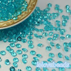 4.5mm Aqua Blue Acrylic Diamond Confetti Wedding Party Table Scatters