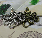 3/15pcs Exquisite fashion big octopus charm pendant give you a new feeling