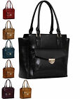 Ladies Handbag Womens Designer Bags Celebrity Faux Leather Large Shoulder Tote