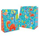Happy Birthday Party Gift Dinosaur Design Bags (Medium,Large,Extra Large)