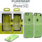 PureGear Apple iPhone 5C Slim Shell Impact Flexible Silicone Case Cover Clear