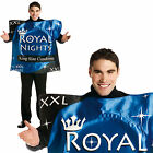 Adults Royal Nights Condom Fancy Dress Costume Novelty Mens Stag Party Outfit