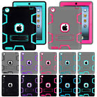 Shockproof Heavy Duty Rubber With Hard Stand Case Cover For iPad Mini iPad Air 1