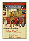 Too Much of a Good Thing - Vintage London Underground Poster