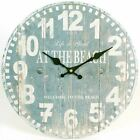 Large Vintage Rustic Wall Clocks Shabby Kitchen Chic Home French Farmhouse Beach