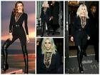 Celebrity Style Lace Up Dance Club Unitard Catsuit Jumpsuit Size 6-12UK/2-8US