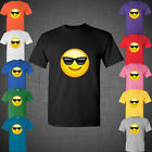 Emoji Emotion Faces Smily glasses face funny cute sweet t shirt tank top tee