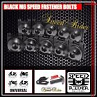 CNC M6 6MM FASTENER SPEED RIDER BOLTS KIT FAIRINGS SCREW MOUNTING NUTS CLIP