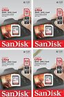 SanDisk SDHC 8GB 16GB 32GB 64GB 128GB SDXC Ultra 80MB 40MB SD UHS C10 Card LOT
