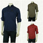 POLO RALPH LAUREN MEN'S MILITARY BUTTON FRONT SHIRT NEW WITH POCKETS S, M, XL