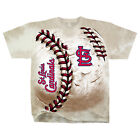 Official Adult MLB St. Louis Cardinals Hardball Tie-dye T-shirt Free Shipping on Ebay