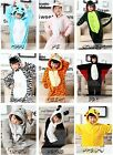 Kids Animal Onesies Costumes  Winter Pajamas 3-12 Years Multiple Designs Cosplay
