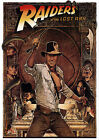 INDIANA JONES - RAIDERS OF THE LOST ARK MOVIE GIANT WALL ART POSTER A0 A1 A2 A3