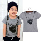 Children Clothes Boys Tops Short Sleeve T Shirt Summer Shirt Children Cotton Top
