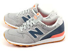 New Balance WR996MNK D Grey & Navy & Pink Retro Lifestyle Casual Sneakers NB