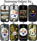 Pittsburgh Steelers Samsung Galaxy s4 Case Hard Silicone Case ##