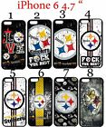 "Pittsburgh Steelers iPhone 6 6s 4.7"" Case Hard Silicone Case #"